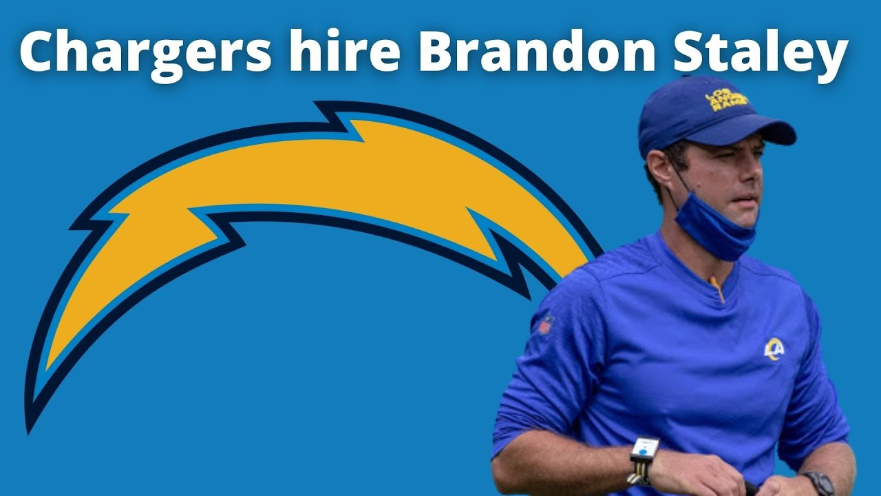 Chargers hiring Rams DC Brandon Staley as new head coach