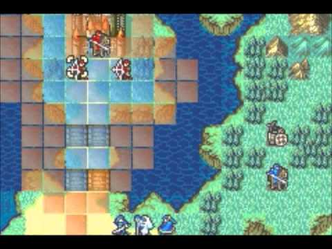 Let's Play Fire Emblem: The Sacred Stones chapter 7 (2/2): Waterside Renvall
