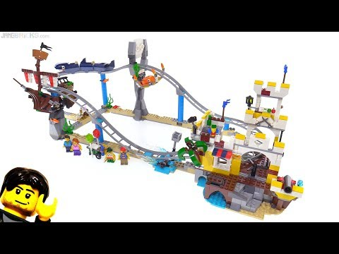 LEGO Creator Pirate Roller Coaster review ☠️ 31084