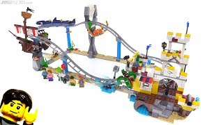 LEGO Creator Pirate Roller Coaster review! ☠️ 31084