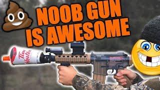 Bye Bye Tooth   Airsoft Noob Gun Destroys!