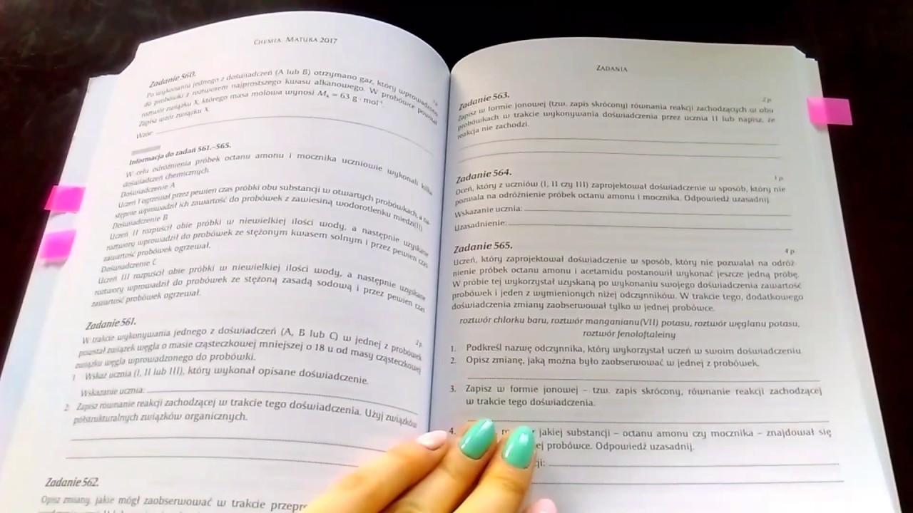chemia zbiór zadań maturalnych pdf