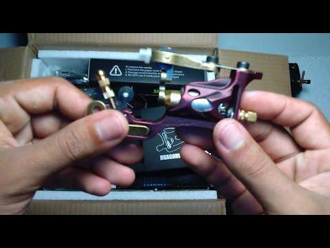 Unboxing Dragonhawk Complete Tattoo Kit Pro Machines Rotary Gun