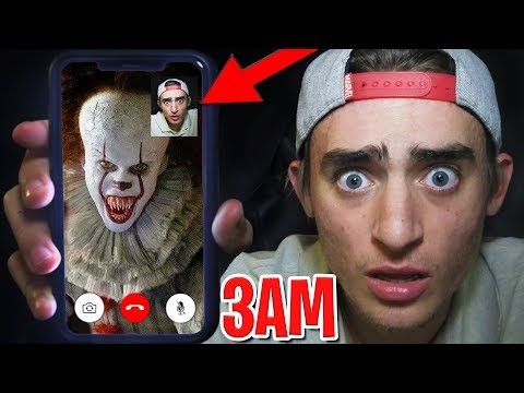 Calling PENNYWISE at 3AM on Halloween! 😱 (3AM HALLOWEEN CHALLENGE)