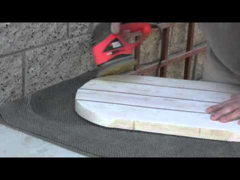 Making A Wood Surfboard Part 2