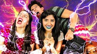 ELECTROSHOCKS EN EL CUERPO | RETO POLINESIO LOS POLINESIOS