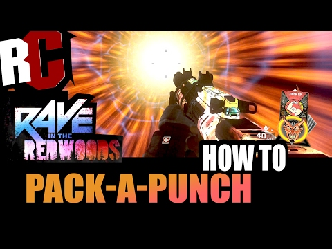 How to PackAPunch in Rave in the Redwoods Zombies  PackAPunch room location guide