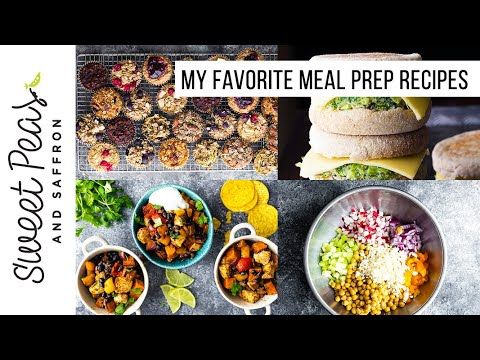 My FAVE Meal Prep Recipes for 2020! | Breakfast, Lunch, Dinner + Snack ideas