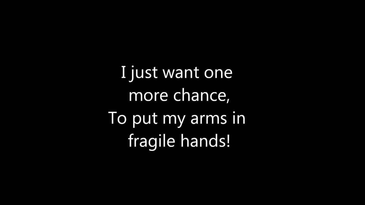 Anberlin paperthin hymn lyrics