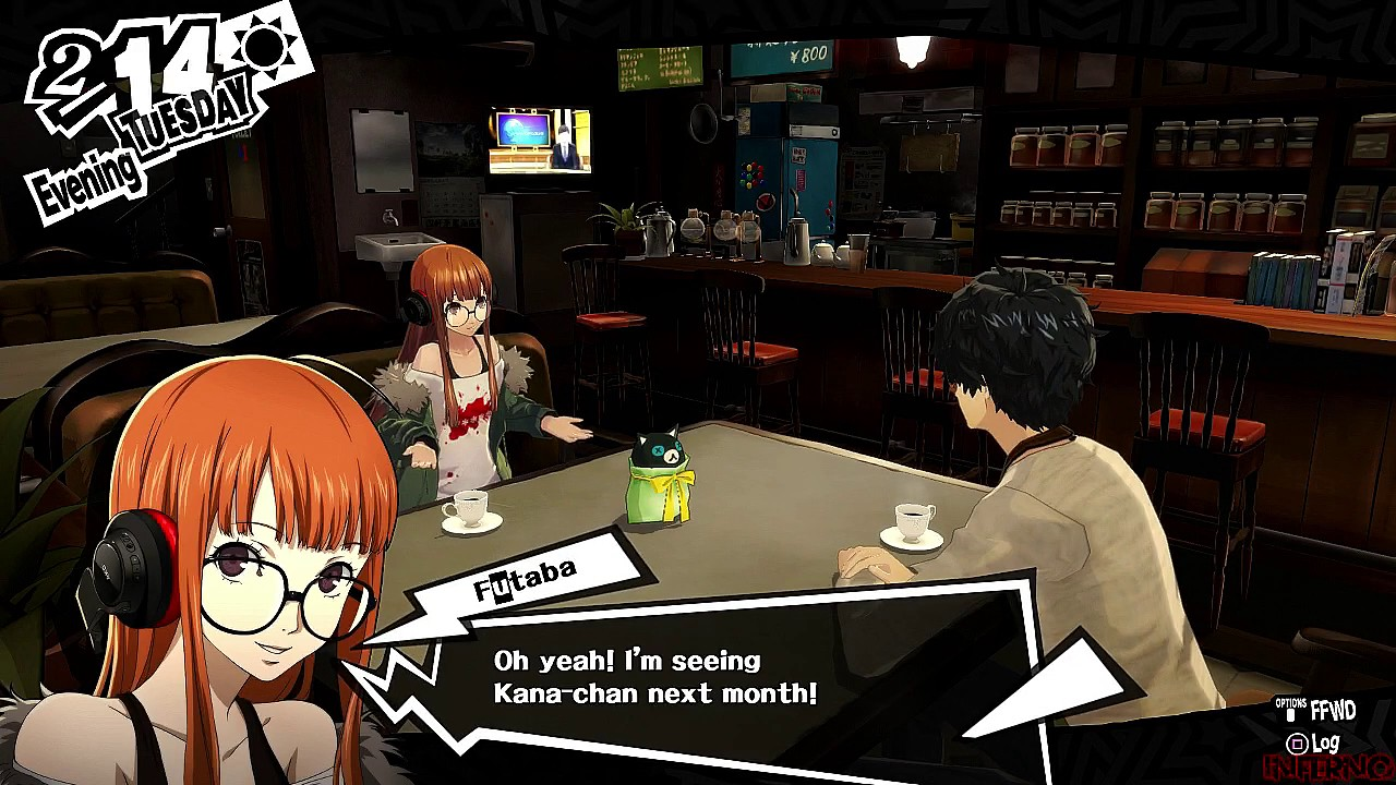 Persona 5 - English Version - Valentines Day with Futaba - YouTube