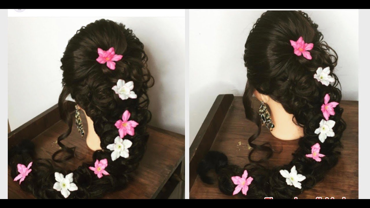 I Mehndi Hairstyles Dailymotion : Pakistani bridal mehndi hairstyle indian