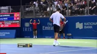 Djokovic vs Fan