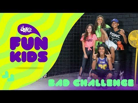 Fun Kids:  BAD CHALLENGE Sucker - Jonas Brothers  FitDance Teen