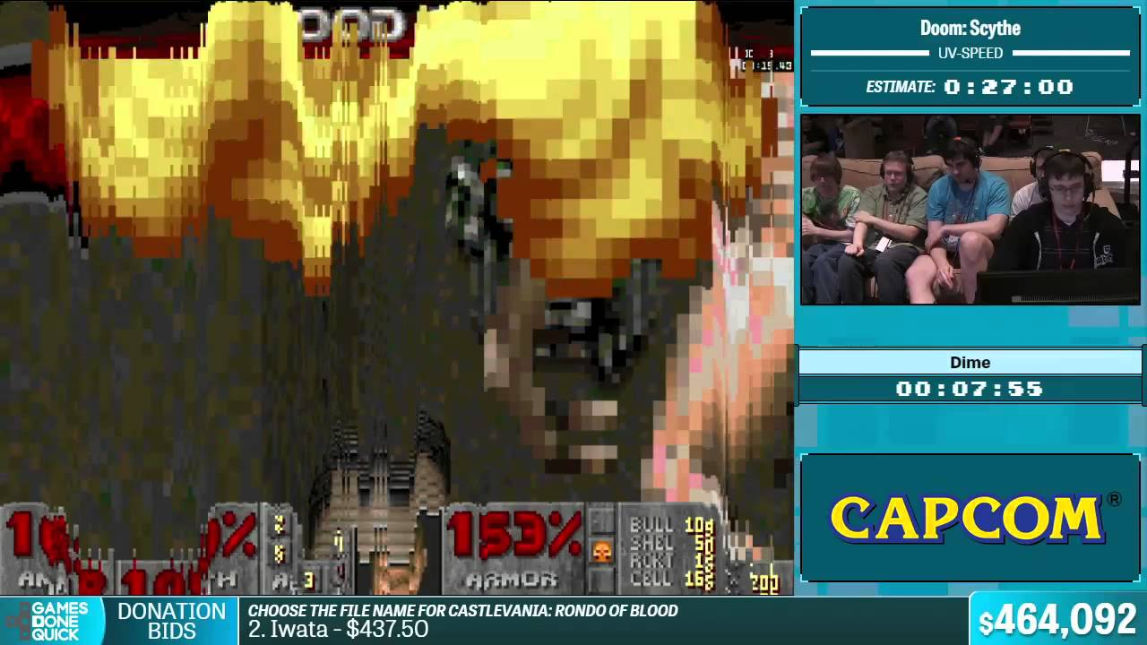 Doom: Scythe by Dime in 17:38 - Summer Games Done Quick 2015 - Part 101