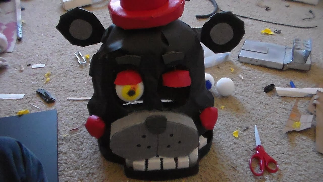 Making a Lefty Mask (FNaF 6)