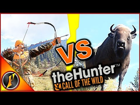 Recurve VS Bison | theHunter Call of the Wild 2018