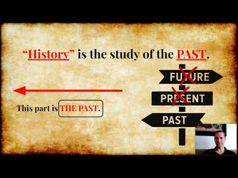 Studying The Past. A Timeline Of History