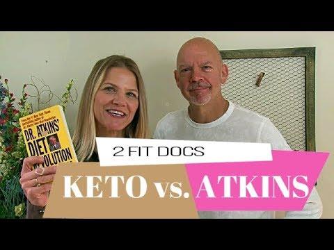 Diferencia entre dieta keto y atkins