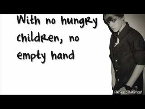 Someday at Christmas - Justin Bieber (Lyrics) - YouTube