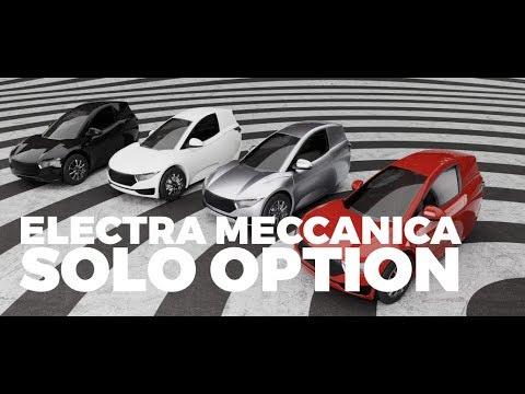 Let's Talk Elio: The Electra Meccanica Solo Option