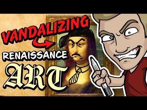 VANDALIZING RENAISSANCE ART!? - Timeless Masterpieces violently violated!