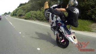 WCC Street Ride HD Motorcycle Stunt Riders Take Over San Fransico & Oakland CA - Blox Starz TV