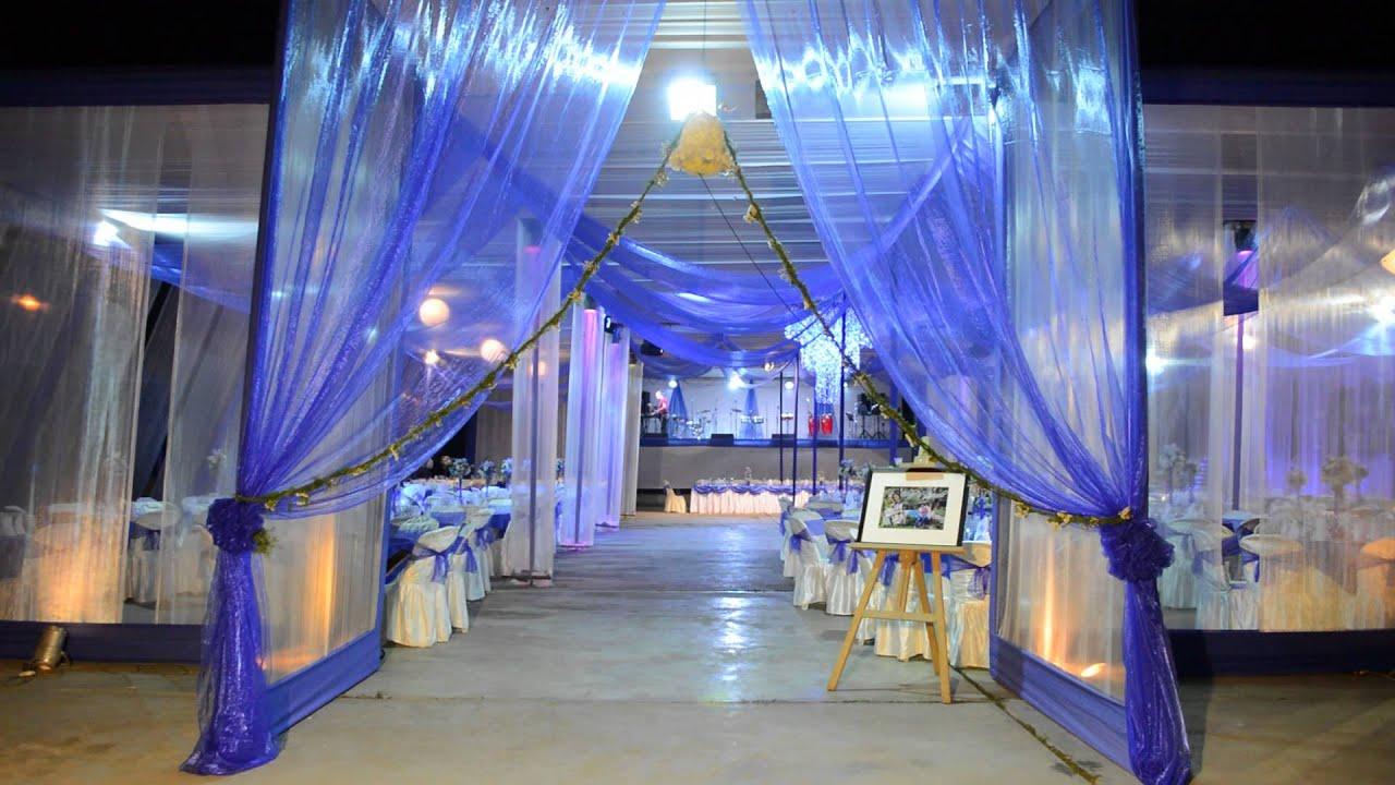 Decoraciones De Bodas En Azul Y Blanco