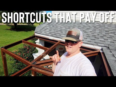 INSTALLING A CUSTOM METAL AWNING // IS QUALITY WORK VALUED ANYMORE?