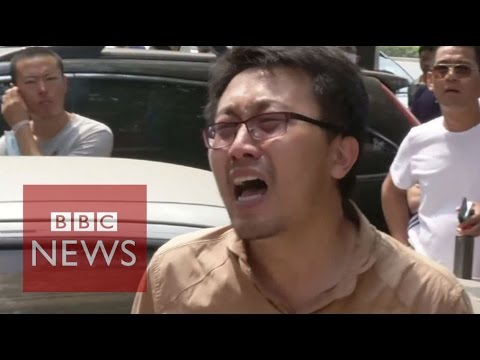 China explosions: Tianjin residents hold protests - BBC News