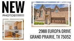 2988 Europa Drive, Grand Prairie, TX 75052
