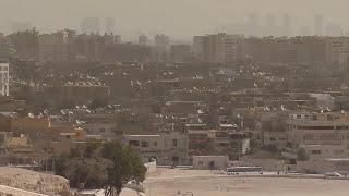 giza pyramids cairo city center