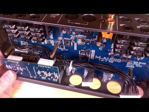 M-Audio FastTrack Ultra -teardown/inspection-