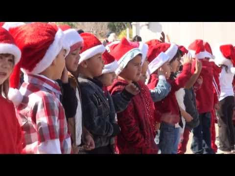 RAW VIDEO: Snow a feature at Hidalgo Elementary School