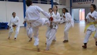 Karate 1 Boy Vs 6 Girls, Brutal Fight!!