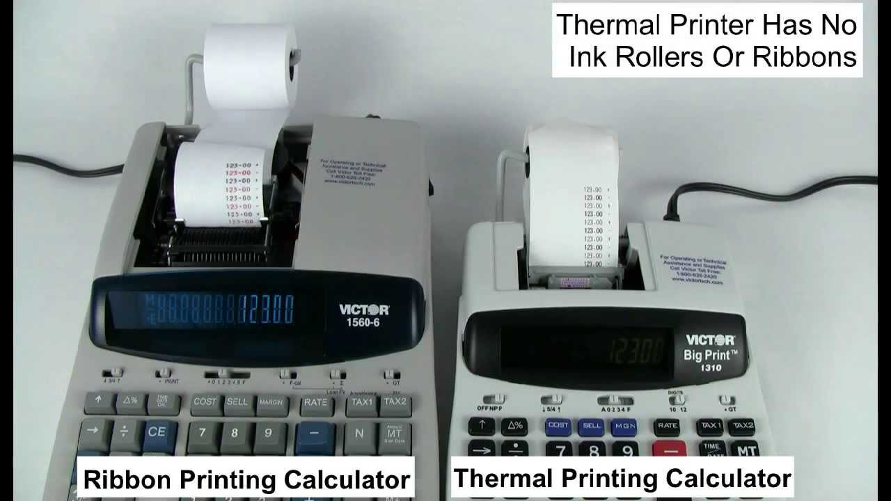 Victor Calculator 1310 Big Print™ - Commercial Printing
