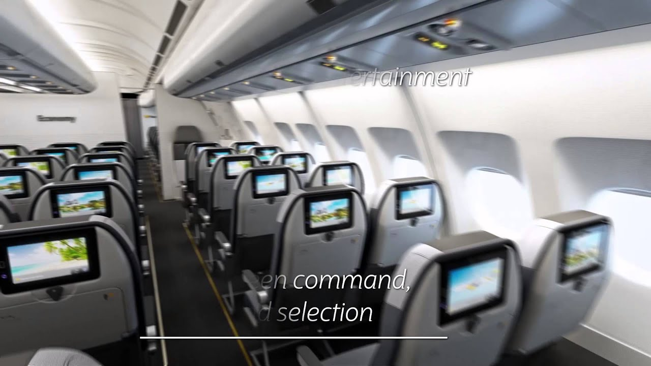 Intravelreport Thomas Cook Group Airlines Introduces A New Entertainment System