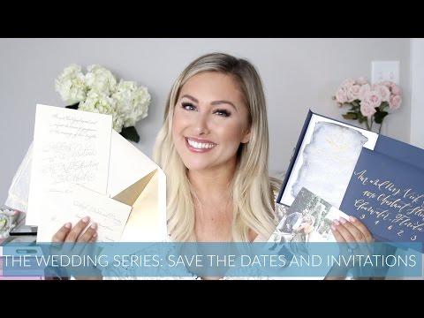 SAVE THE DATES & WEDDING INVITATIONS \\ Wedding Series