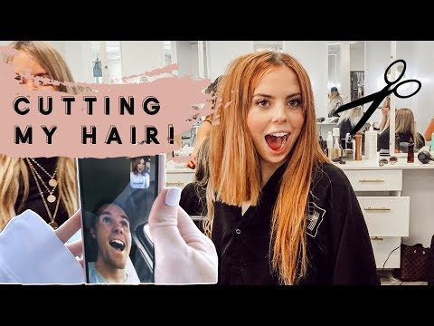 Husband Reacts to Chopping My Hair!!!