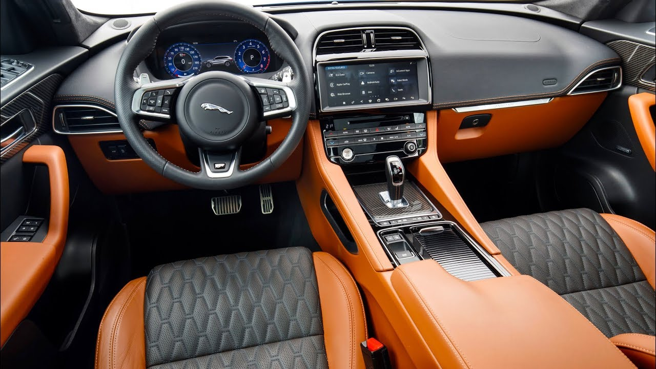 2019 Jaguar F Pace Svr Interior Full Colors