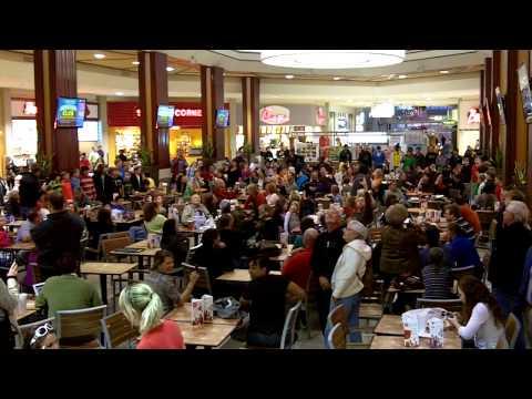 Chattanooga Boys Choir flashmob - Hamilton Place Mall