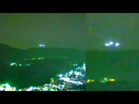 Incredible UFOs Invisible To The Naked Eye Filmed over Sierra Madre del Sur Mountain Range (Mexico)