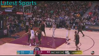 Warriors vs Cavs Game 4 Highlights (3rd Quarter) NBA Finals 2018