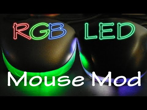 How to put an RGB color changing LED in your mouse - RGB Mouse Mod