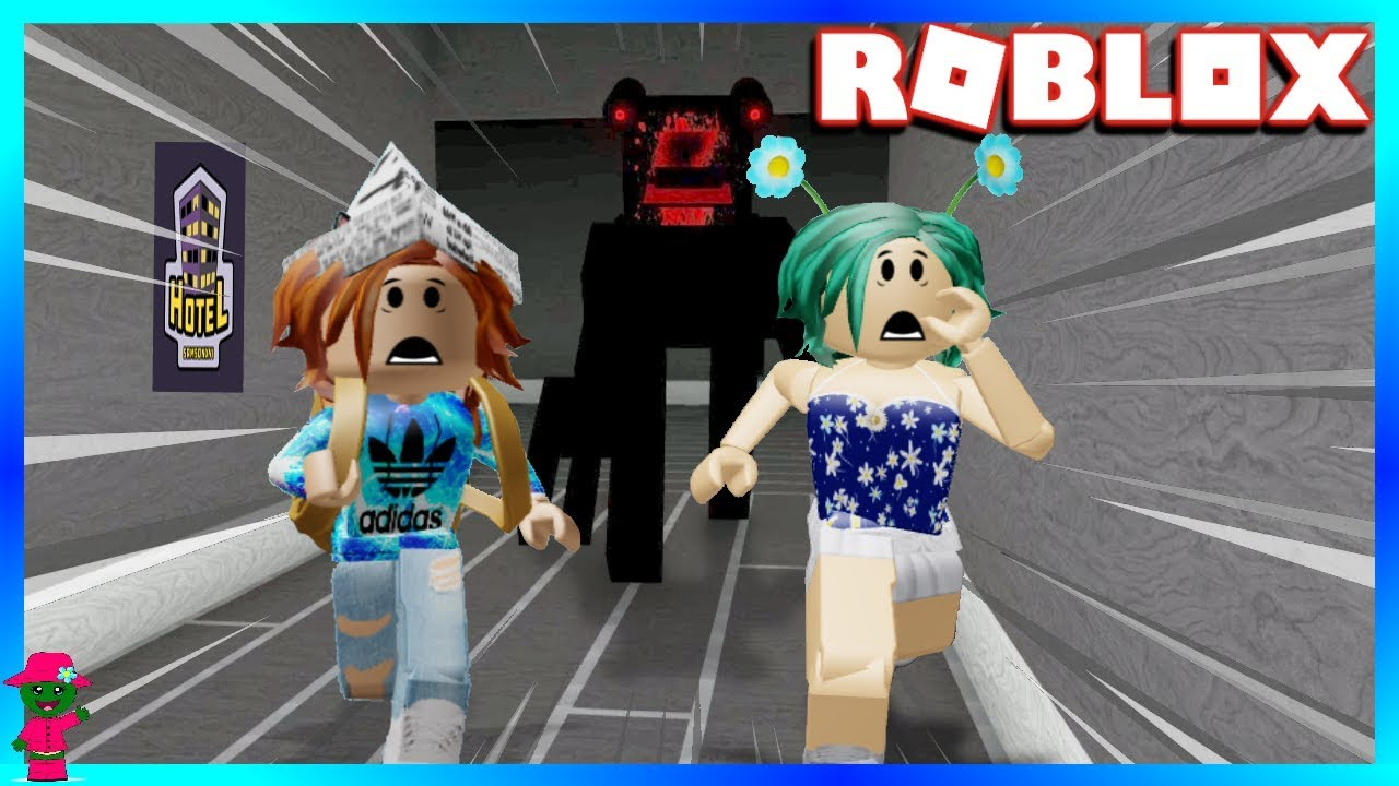 We Found The Camping Family In This Hotel Roblox Hotel Youtube