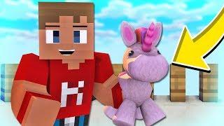 NUTTET ENHJØRNING! | Dansk Minecraft: Build Battle
