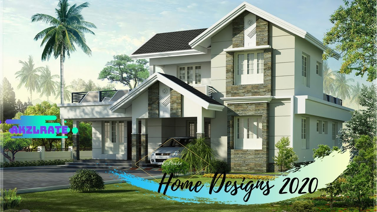 Best Modern Home Designs For 2020 Contemporary Budget House Ideas With Different Roof Styles Youtube