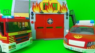 TOP 10  PLAYMOBIL FIRE ENGINE POLICE CARS +HELICOPTER