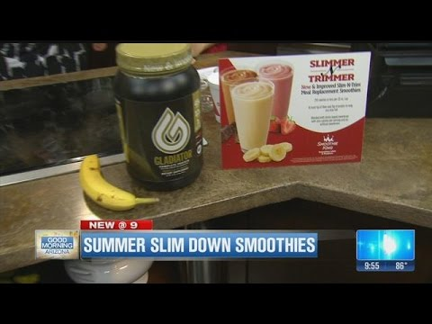 Summer Slim Down Smoothies With Smoothie King