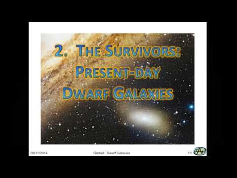 Sackler Lecture: Dwarf Galaxies and Their Role as Building Blocks