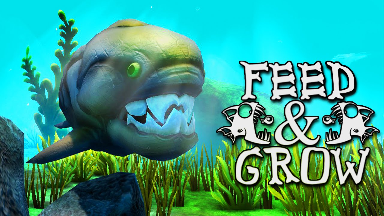Megalodon feed and grow fish 4 youtube for Fish eat and grow